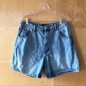 Zara | High Waisted Mom Jean Shorts